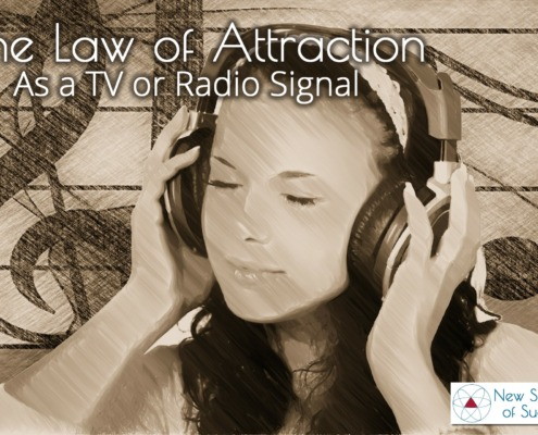 The Law of Attraction as a Radio Signal